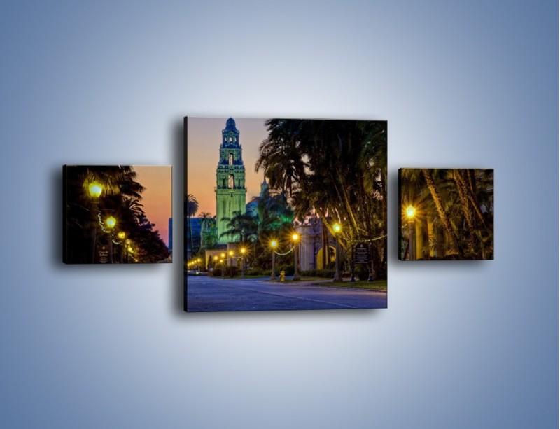 Obraz na płótnie – Balboa Park w San Diego – trzyczęściowy AM609W4