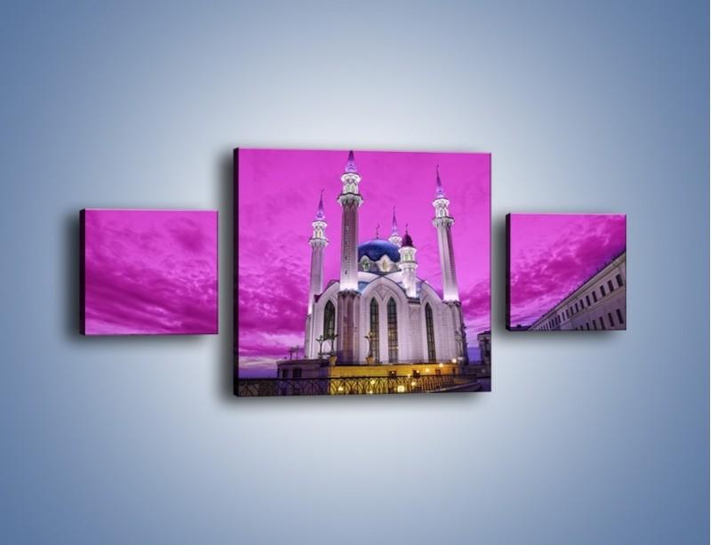 Obraz na płótnie – Meczet Kul Szarif – trzyczęściowy AM642W4