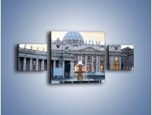 Obraz na płótnie – Bazylika św. Piotra w Watykanie – trzyczęściowy AM722W4