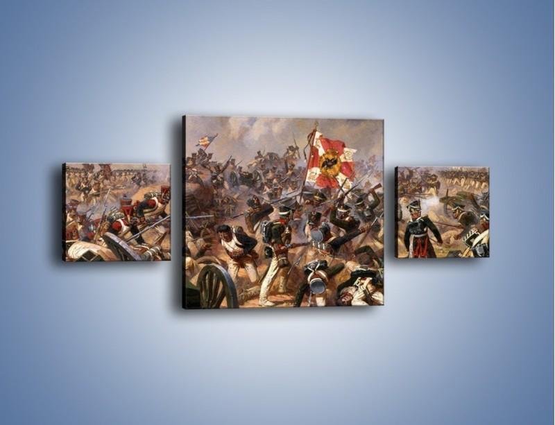 Obraz na płótnie – Wojna i jej skutki – trzyczęściowy GR133W4
