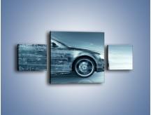 Obraz na płótnie – Auto z prędkością światła – trzyczęściowy GR264W4