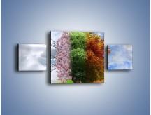 Obraz na płótnie – Cztery pory roku – trzyczęściowy GR333W4