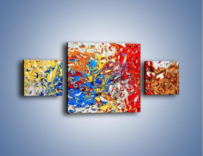 Obraz na płótnie – Każdy kolor coś znaczy – trzyczęściowy GR407W4