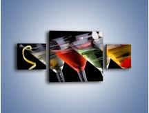 Obraz na płótnie – Alkoholowa zabawa do rana – trzyczęściowy JN100W4