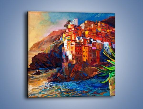 Obraz na płótnie – Portugalia okiem malarza – jednoczęściowy kwadratowy GR579