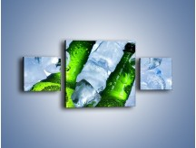 Obraz na płótnie – Czas na zimne piwko – trzyczęściowy JN148W4