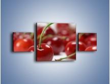 Obraz na płótnie – Czereśnia rządzi w kuchni – trzyczęściowy JN223W4