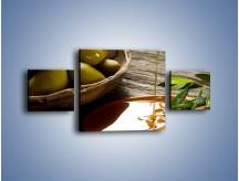 Obraz na płótnie – Bogactwa wydobyte z oliwek – trzyczęściowy JN270W4