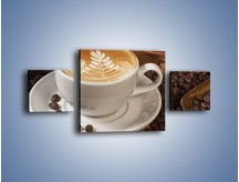 Obraz na płótnie – Czas na kawę – trzyczęściowy JN353W4