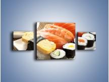 Obraz na płótnie – Azjatyckie posiłki – trzyczęściowy JN355W4