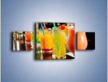 Obraz na płótnie – Barmańskie drinki – trzyczęściowy JN433W4