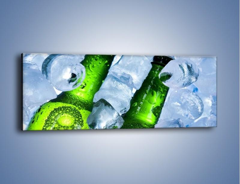 Obraz na płótnie – Czas na zimne piwko – jednoczęściowy panoramiczny JN148
