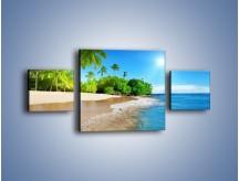 Obraz na płótnie – Bajeczne wakacyjne wspomnienia – trzyczęściowy KN1110AW4