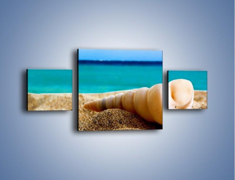Obraz na płótnie – Czy uda się zobaczyć ślimaka – trzyczęściowy KN1210AW4