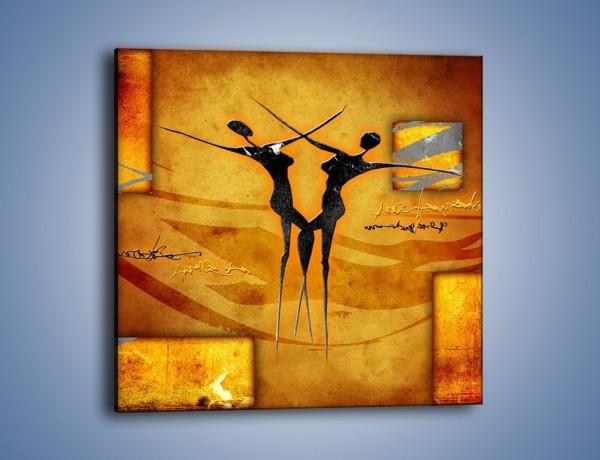 Obraz na płótnie – Dotyk w tańcu – jednoczęściowy kwadratowy GR633