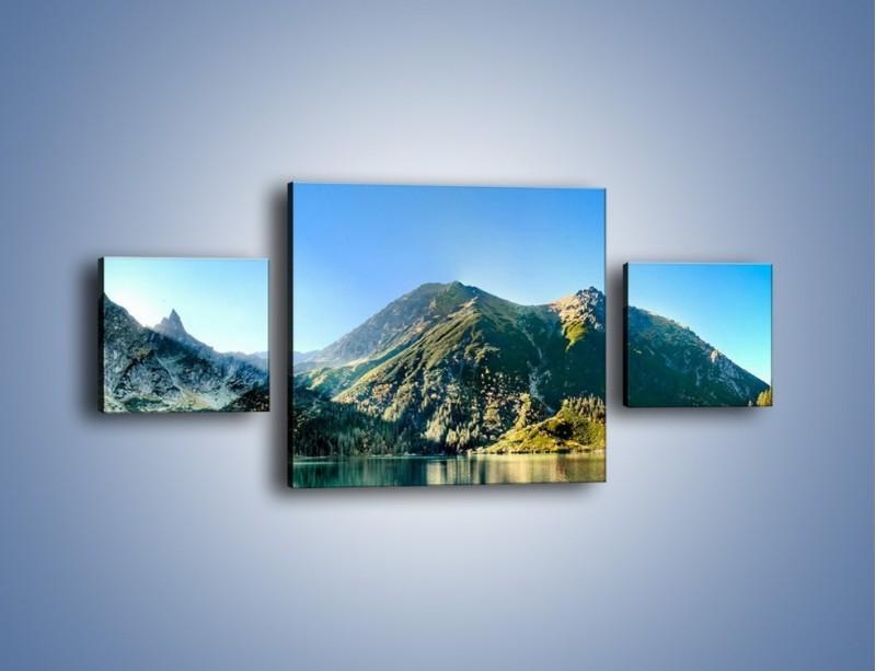 Obraz na płótnie – Chłodny klimat górski – trzyczęściowy KN844W4