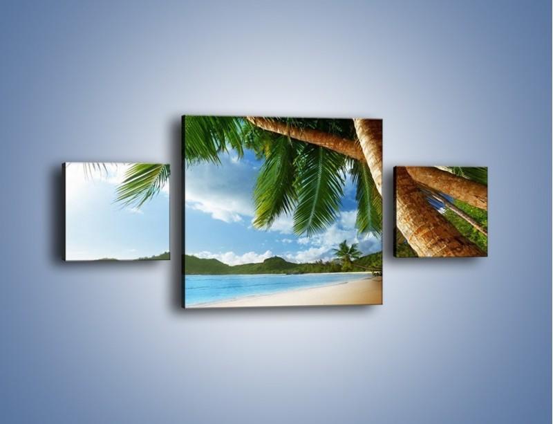 Obraz na płótnie – Idealne miejsce na ziemi – trzyczęściowy KN847W4