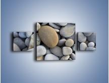 Obraz na płótnie – Kamienie duże i małe – trzyczęściowy O006W4