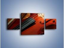 Obraz na płótnie – Instrument i muzyka poważna – trzyczęściowy O025W4