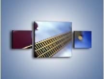 Obraz na płótnie – Gitara z bliska – trzyczęściowy O088W4