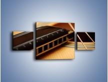 Obraz na płótnie – Instrumenty z drewna – trzyczęściowy O108W4