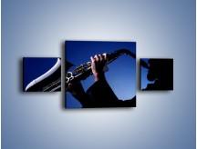 Obraz na płótnie – Koncert na saksofonie – trzyczęściowy O110W4