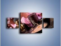 Obraz na płótnie – Medytacja z dodatkami – trzyczęściowy O222W4