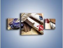 Obraz na płótnie – Listy zapieczętowane atramentem – trzyczęściowy O234W4