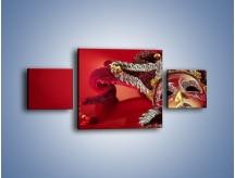 Obraz na płótnie – Karnawał w wenecji – trzyczęściowy O249W4