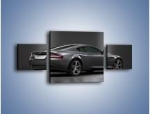 Obraz na płótnie – Aston Martin DB9 Coupe – trzyczęściowy TM059W4