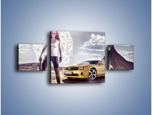 Obraz na płótnie – Chevrolet Camaro – trzyczęściowy TM079W4