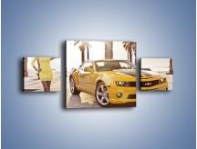 Obraz na płótnie – Chevrolet Camaro Coupe Europe – trzyczęściowy TM083W4