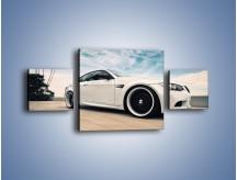 Obraz na płótnie – BMW M3 Strasse Forged Wheels – trzyczęściowy TM094W4