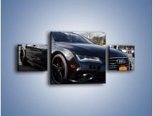 Obraz na płótnie – Audi A7 D2forged Wheels – trzyczęściowy TM099W4