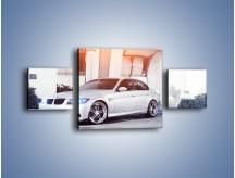 Obraz na płótnie – BMW 3 E90 – trzyczęściowy TM112W4