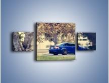 Obraz na płótnie – BMW M3 Coupe E100 – trzyczęściowy TM114W4