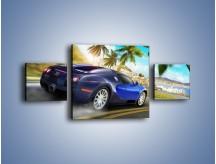 Obraz na płótnie – Bugatti Veyron – trzyczęściowy TM123W4