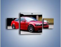 Obraz na płótnie – BMW M3 E46 Coupe – trzyczęściowy TM125W4