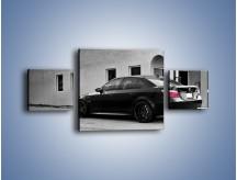 Obraz na płótnie – BMW M5 E68 – trzyczęściowy TM135W4