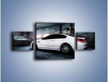 Obraz na płótnie – BMW M6 F13 w garażu – trzyczęściowy TM165W4