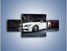 Obraz na płótnie – BMW M6 F13 Vossen Wheels – trzyczęściowy TM169W4