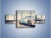 Obraz na płótnie – Chevrolet Camaro Cabrio – trzyczęściowy TM173W4