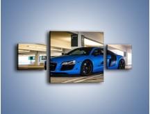 Obraz na płótnie – Audi R8 – trzyczęściowy TM180W4