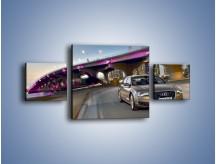 Obraz na płótnie – Audi A8 – trzyczęściowy TM188W4