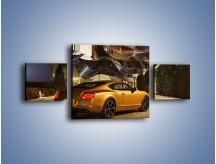 Obraz na płótnie – Bentley Continental GT V8 – trzyczęściowy TM190W4