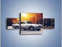 Obraz na płótnie – Aston Martin DB5 – trzyczęściowy TM208W4