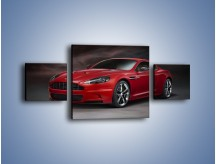 Obraz na płótnie – Aston Martin DBS Carbon Edition – trzyczęściowy TM242W4