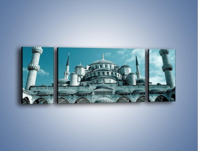 Obraz na płótnie – Taj Mahal – trzyczęściowy AM175W5