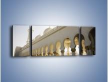 Obraz na płótnie – Bliskowschodnia architektura – trzyczęściowy AM177W5