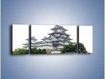 Obraz na płótnie – Azjatycka architektura – trzyczęściowy AM181W5